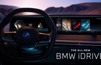 BMW:n uusittu iDrive-käyttöjärjestelmä tekee autosta matkakumppanin